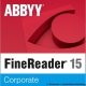 ABBYY FineReader 15 Corporate Vollversion (Download)