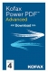 Kofax Power PDF Advanced 4.0 Vollversion (Win, Download) Kaufversion